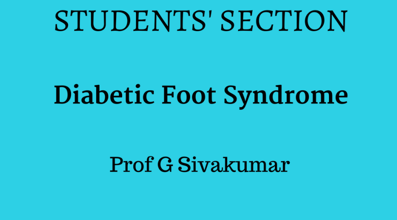 students section- padhamhealthnews-diabetic foot syndrome