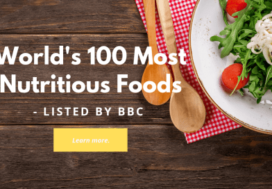 BBC 100 MOST NUTRITIOUS FOODS