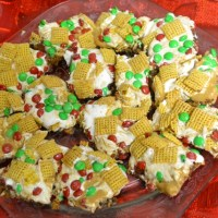 M&M Cookie Bars - A Cookie Bar Recipe for the Holidays