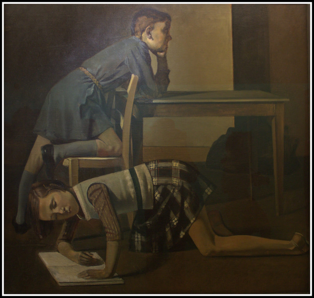 La Chambre Turque Balthus Therese Dreaming Archives Basel Blog