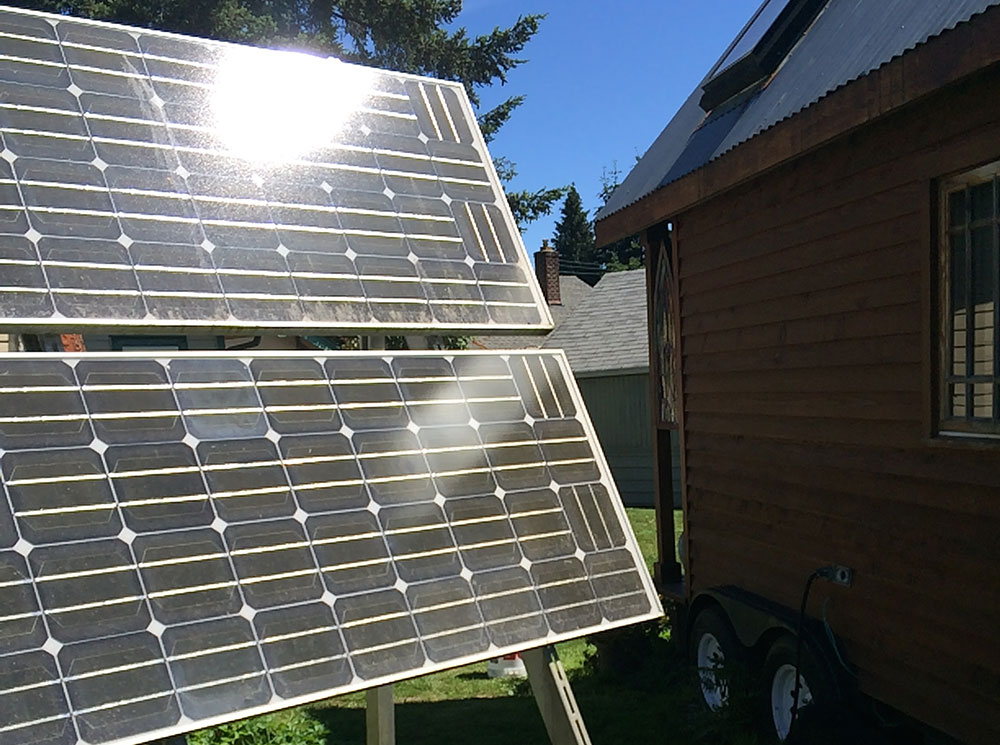 How to Power Your Tiny House With Solar Power - PADtinyhouses