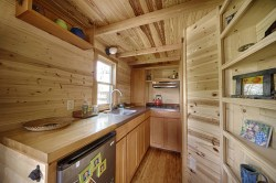 Small Of Tiny House Kitchen