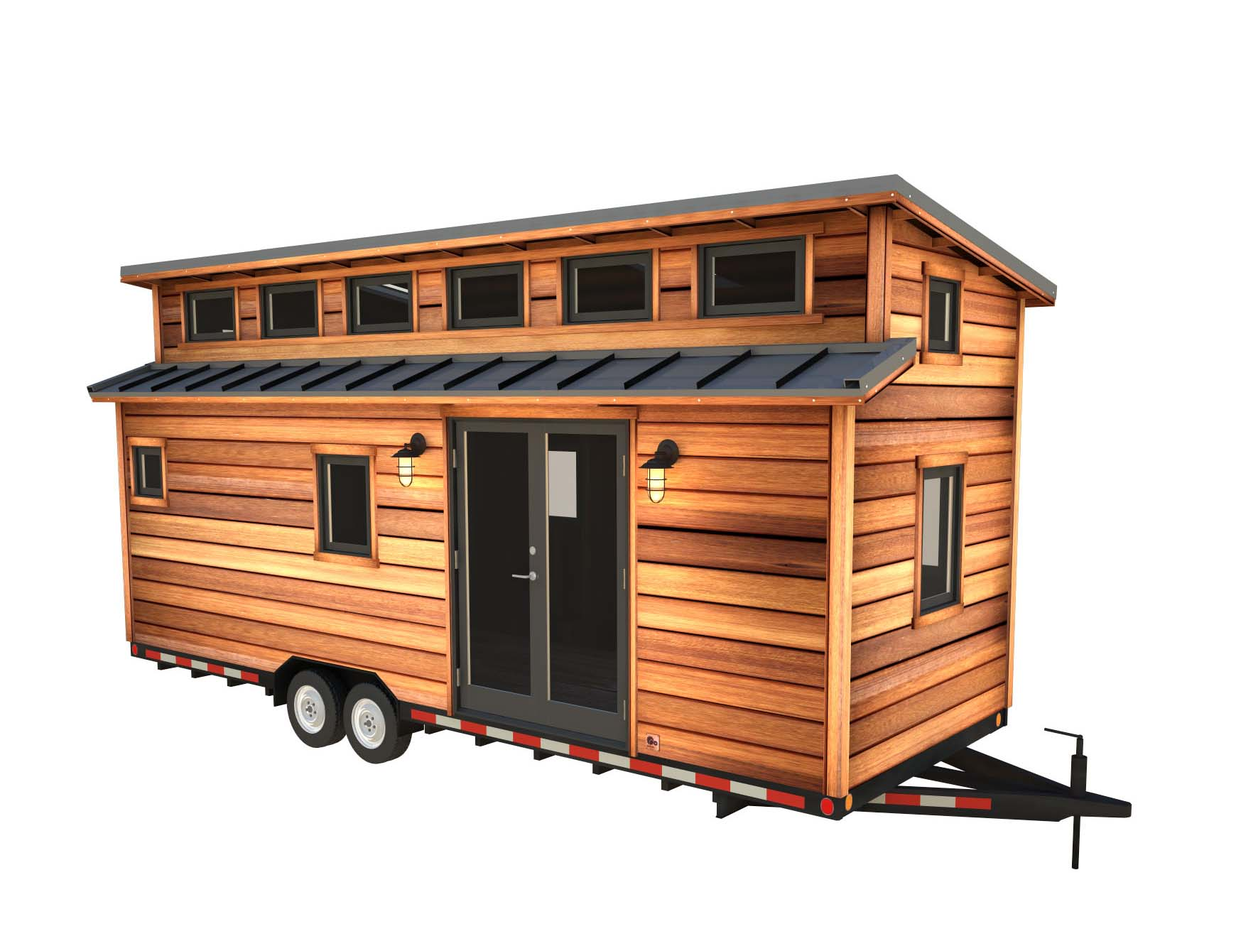 Tiny House With Garage Plans Cider Box Tiny House Plans