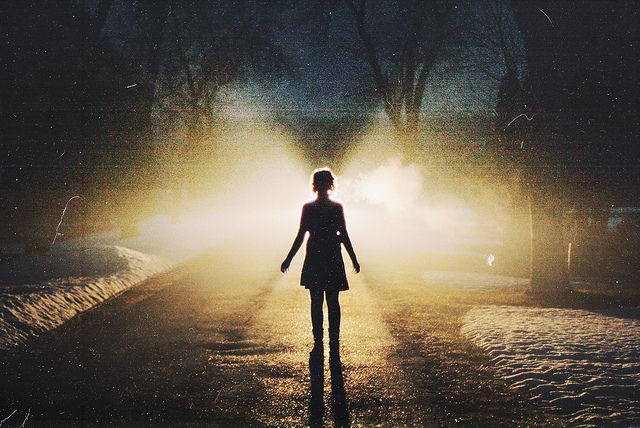 Lonely Girl Walking Wallpaper Be Do And Have Paftee
