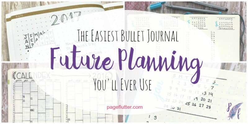 The Easiest Future Planning Method Youu0027ll Ever Use Page Flutter - spend plan template