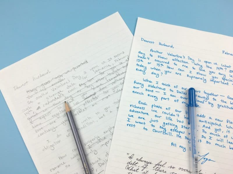 Why You Need to Write Love Letters ( How to Write One) Page Flutter