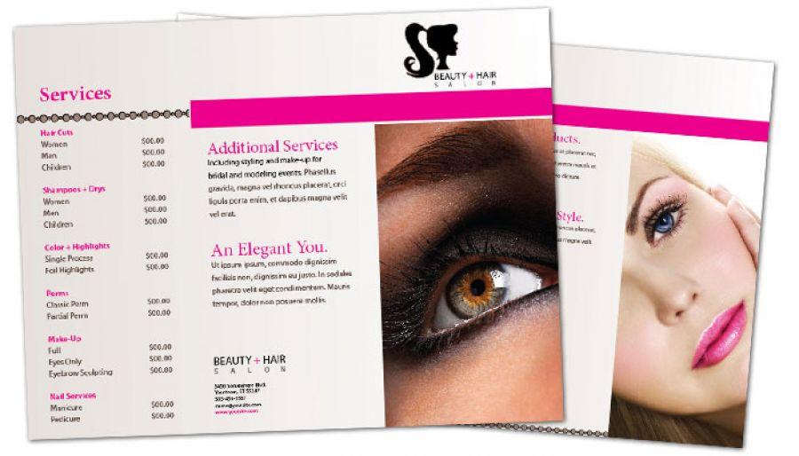 Beauty Spa Flyer Template Free Spa Brochure Templates Spa Brochure