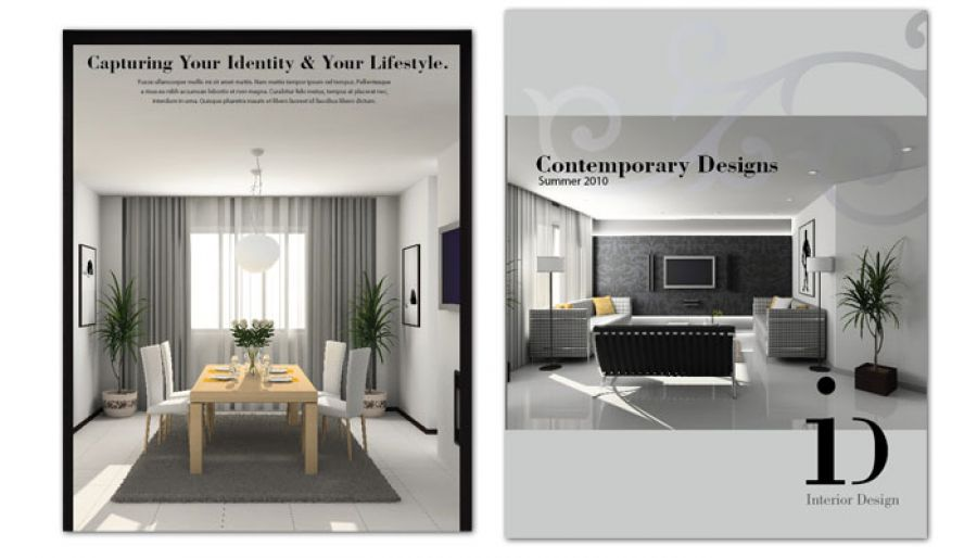 Flyer template for Interior Design Order Custom Flyer design - interior design flyers