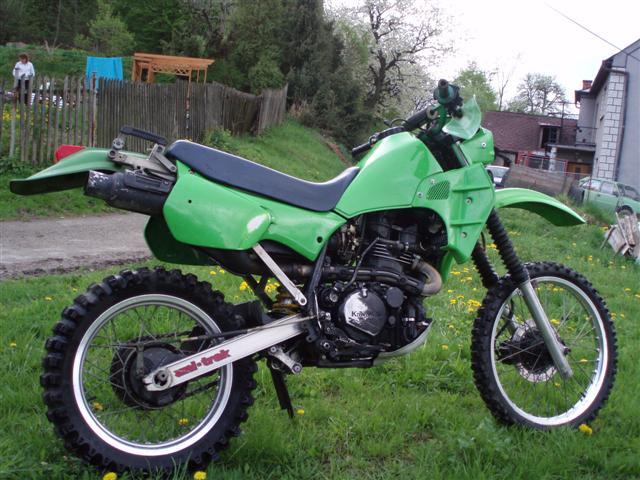 Kawasaki KLR600 (KL-600-A1) Motorcycle Workshop Service Repair