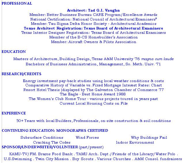 champlain college resume examples