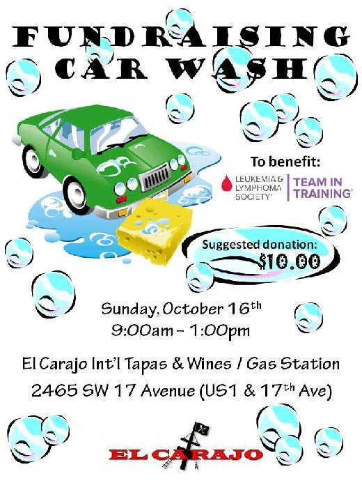 car wash fundraiser tickets template - car wash flyer template