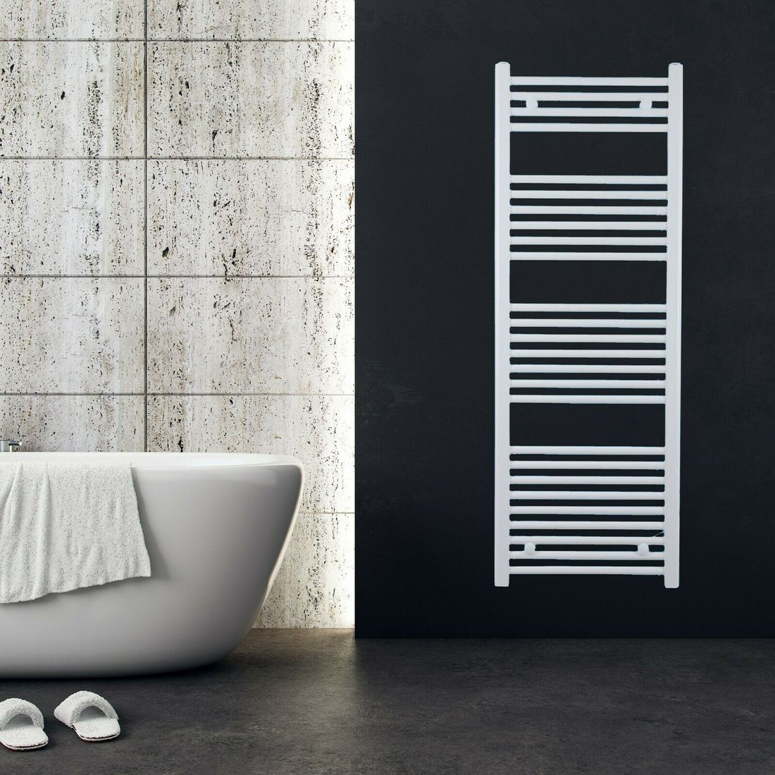 Bathroom Radiator Towel Warmer Bathroom Radiator White Anthracite Stainless Steel Ebay