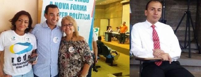 Renato Santana, da Rede, e Mauro Lara, do PSOL