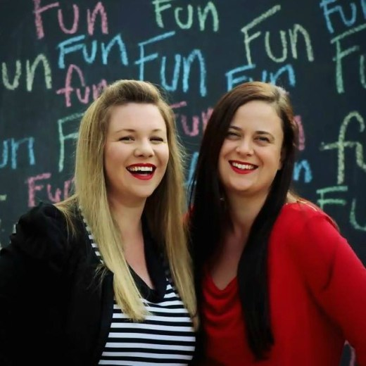 Jenni (left) & Louise (right) from Paging Fun Mums