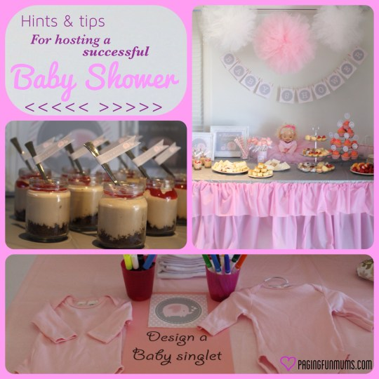 hints tips for hosting a baby shower louise paging fun mums