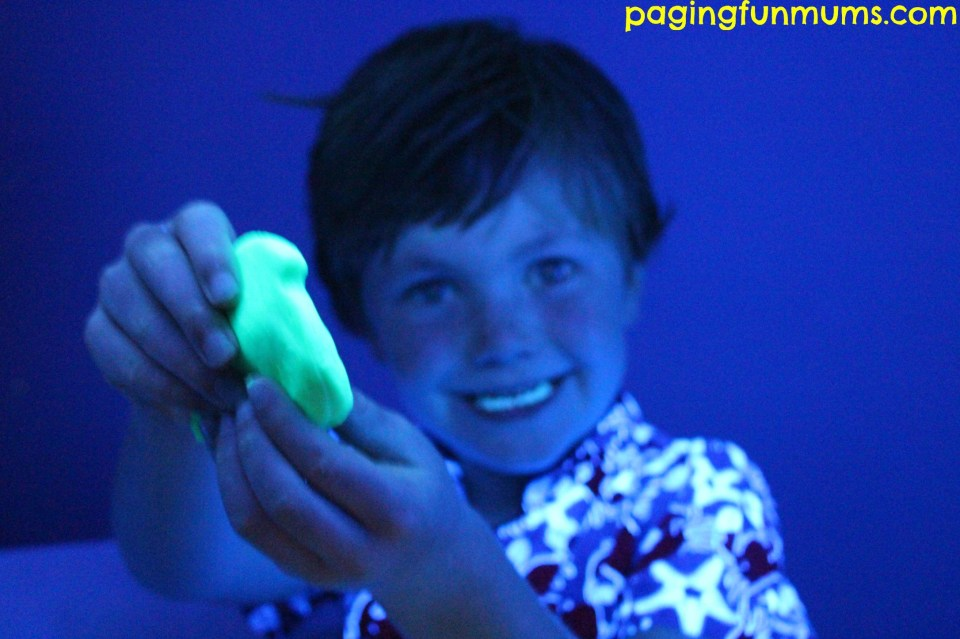 Glow in the dark Playdough 4