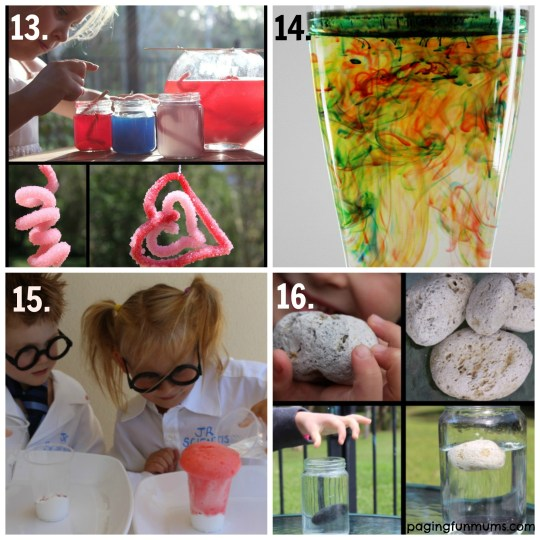 Fun Science Activities for kids - 20+ ideas!