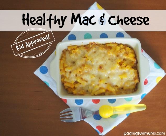 Healthy Mac & Cheese using butternut pumpkin!