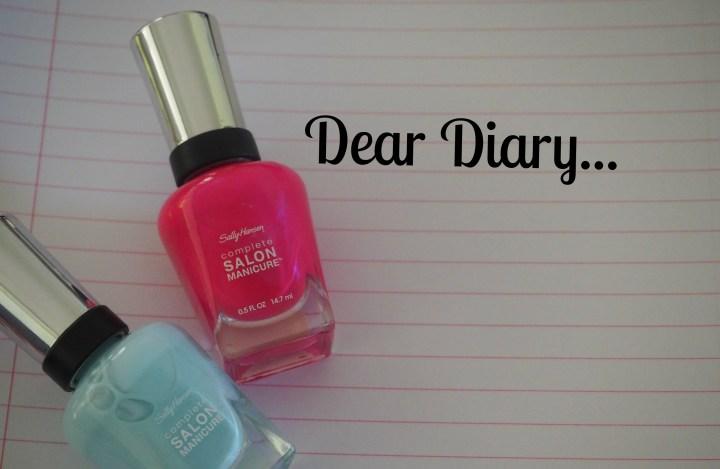 Sally Hansen Nail Polish Diary