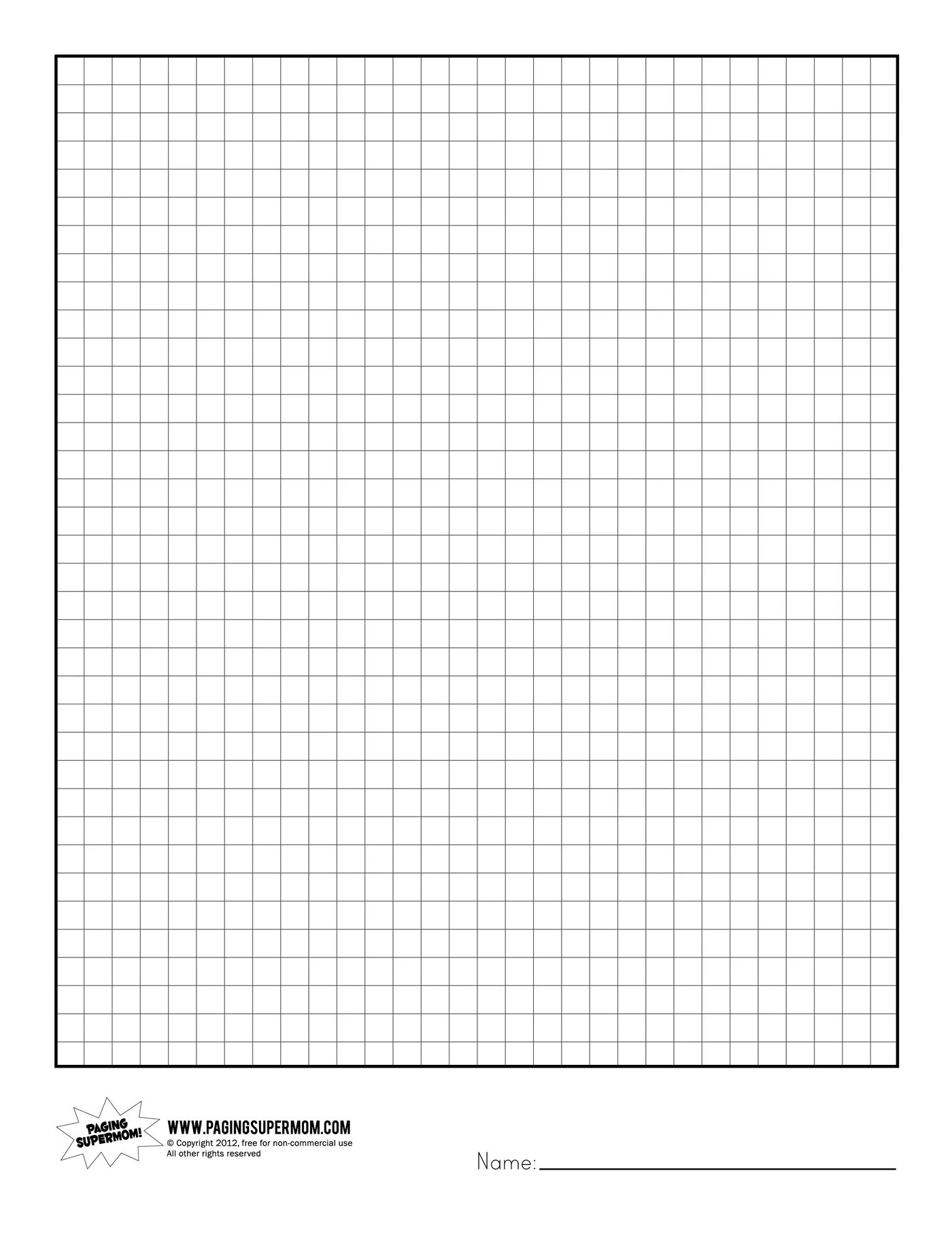 downloadable graphing paper