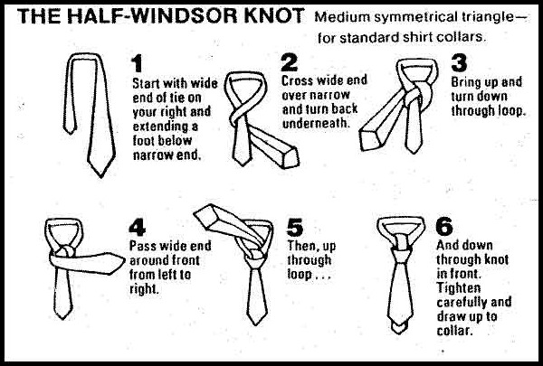 how to tie a tie tying a knot windsor knot