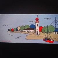 【ギャラリー89】『旅の輪郭』パリ・ノルマンディーの風景~門田知佐子個展
