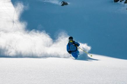 skier cold smoke
