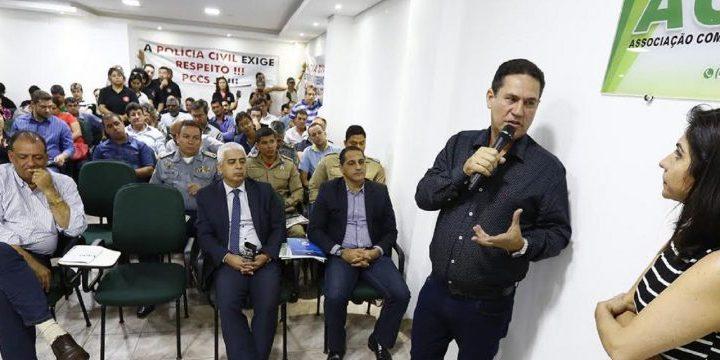 Maurão participa de reunião onde empresários pedem reforço na segurança
