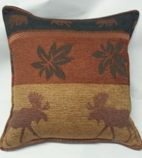 Moose Tapestry Pillow  Paine Products
