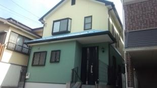 ガイナ 塗料 横浜市緑区 屋根外壁 塗装