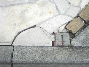 石材タイル補修