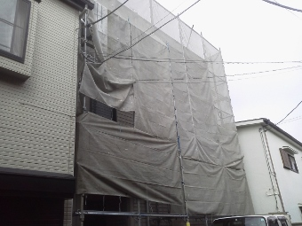 ガイナ 座間市 ALC 外壁 塗装