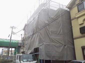 ガイナ 藤沢市 コロニアル 塗装