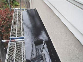 コロニアル屋根 ガイナ塗装 (13)