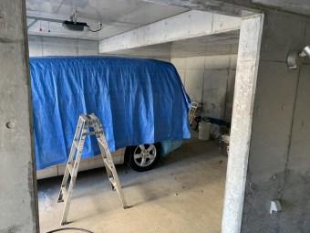 車庫室ガイナ塗装 洗浄