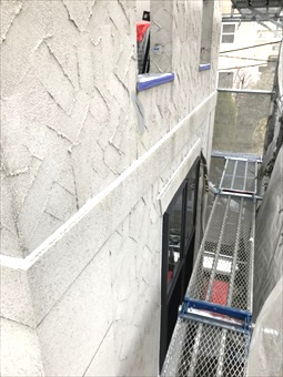 藤沢市ガイナ塗装2日、3日目 (6)