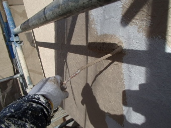 ガイナ 八王子市 コロニアル 屋根 塗装