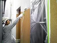 6モルタル壁下塗り(1層目)2