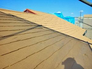 屋根塗装 中塗り(断熱セラミック塗料)5