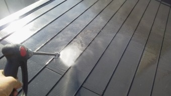 ガイナ 平塚市 ガルバリウム鋼板 屋根 塗装