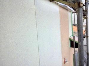外壁サイディング中塗り(ガイナ)2