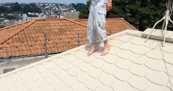 ガイナで屋根塗装