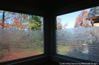 Pretty Transparent Pattern: Etched Glass with Stencils ...