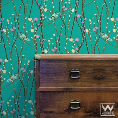7 Removable Wallpaper Decorating Ideas for Commitment-Issue Spaces | Paint + Pattern