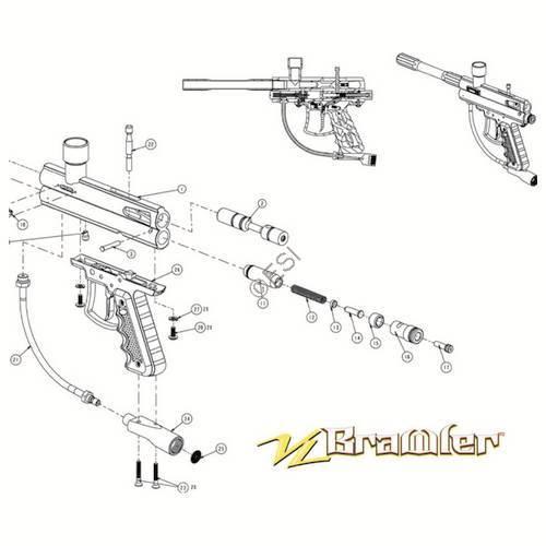 protection gun gun parts diagram