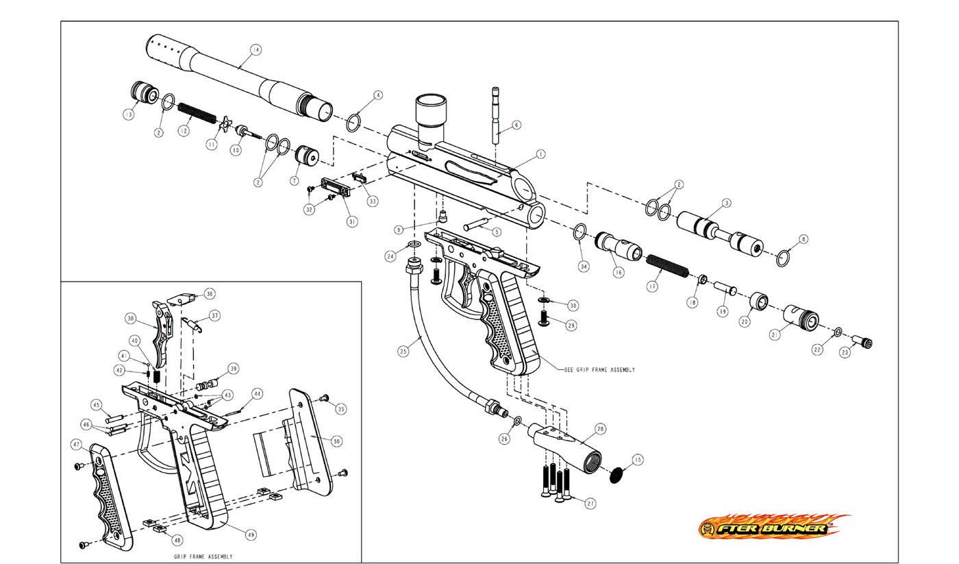 diagrams and manuals paintball gun schematic