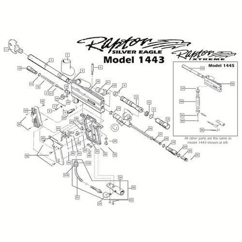 sku brass eagle marauder gun diagram