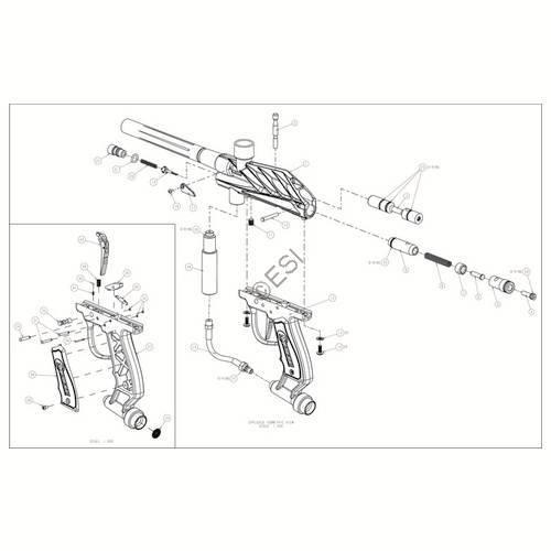 sku brass eagle blade 02 gun diagram