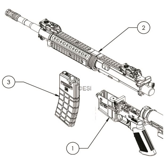tippmann 98 custom pro platinum series rt gun parts v080616 diagram