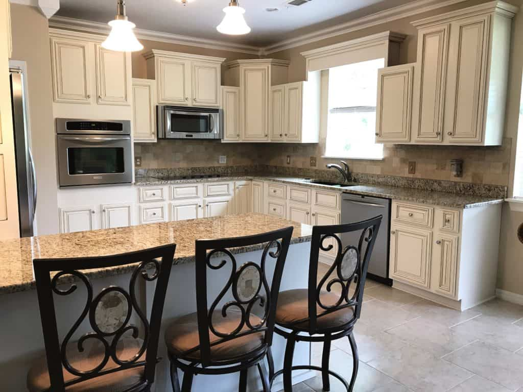 Sherwin-williams Countertop Paint Lighter Brighter Kitchen Cabinets How To Update Your Kitchen